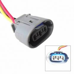 CONNECTOR ALT TOYOTA S-DENSO OVAL 3W HQ