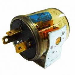 FLASHER 12V 3P UNIVERSAL ELECTRONIC CLEAR